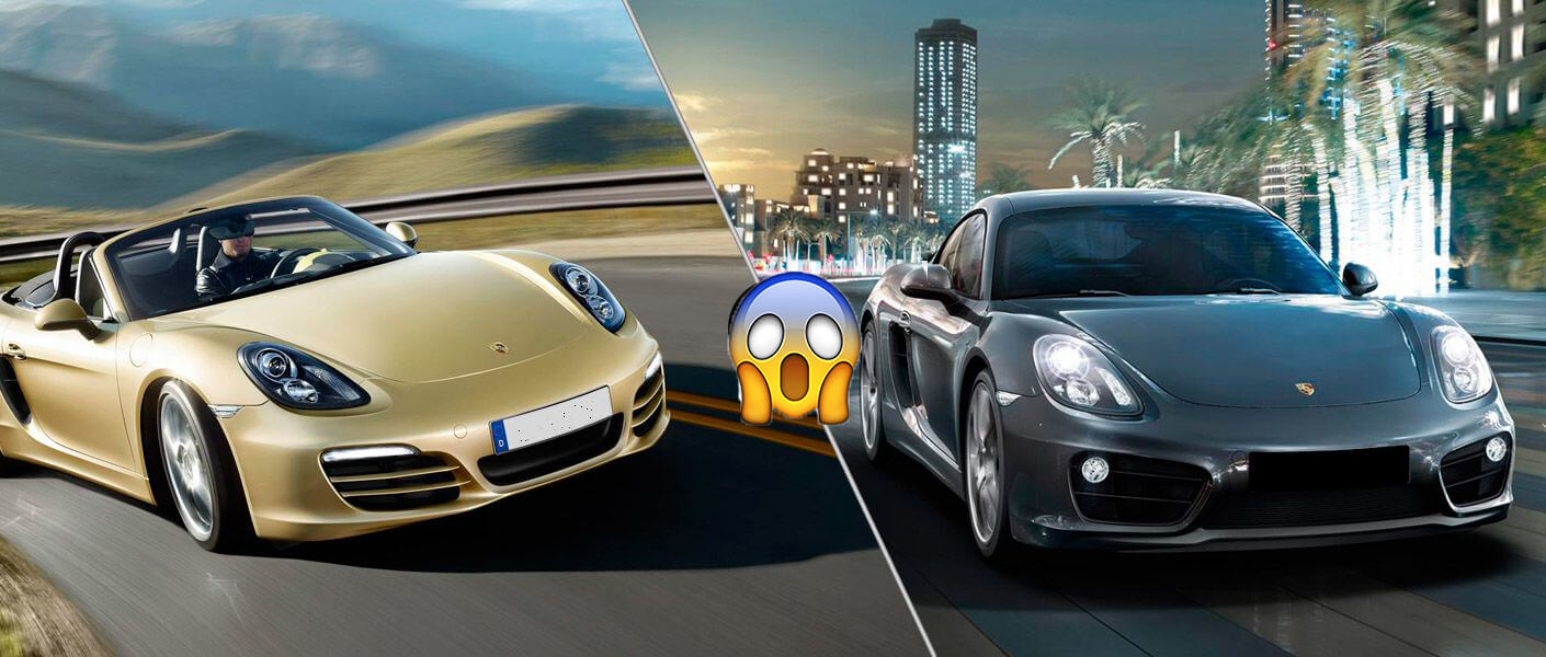 Porsche Cayman and Boxster Next generation 100% of electric cars