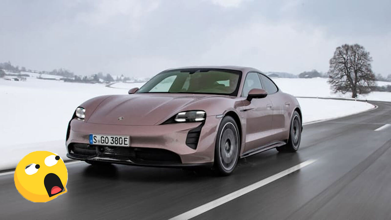 Porsche Taycan Reavled An Electric entry-level