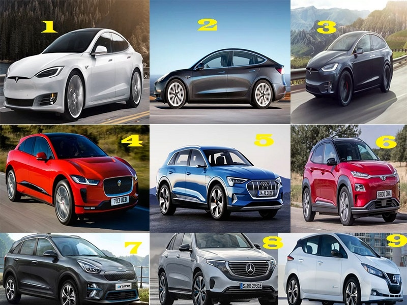 Which electric car has the longest range in 2021?