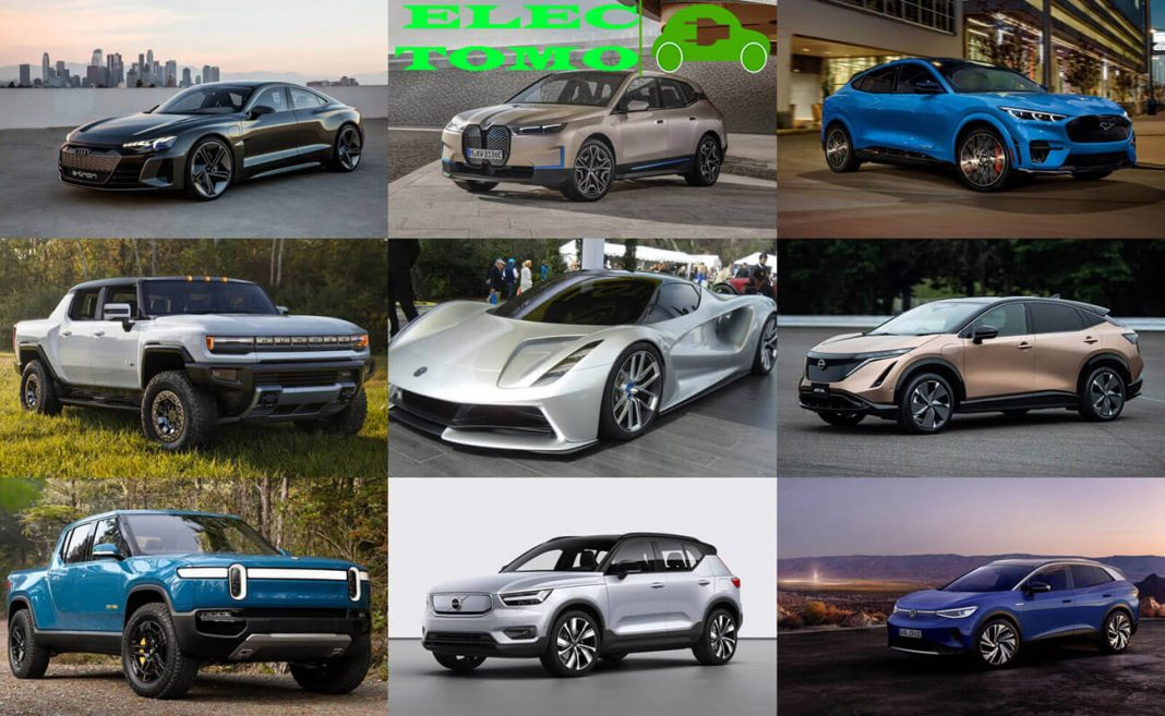 new electric cars are coming out in 2021